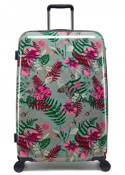 Radley Botanical Floral Large Four Wheel Suitcase