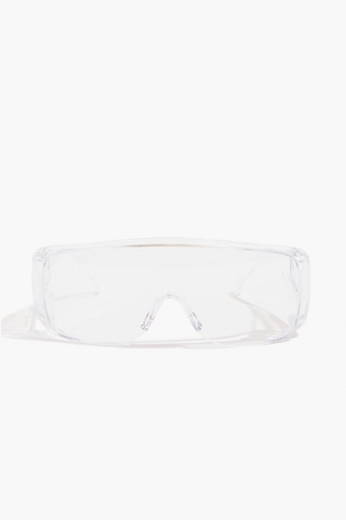 Forever21 Forever 21 Transparent Protective , Clear/clear Eyewear