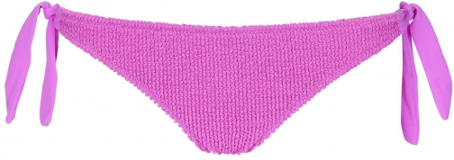 Calzedonia - Alice Crinkle Side Cheeky Bottoms, S, Violet, Women Tie