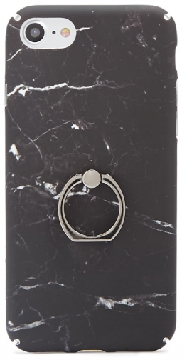 Forever21 Forever 21 Marble For IPhone 7/8 Black/multi Case