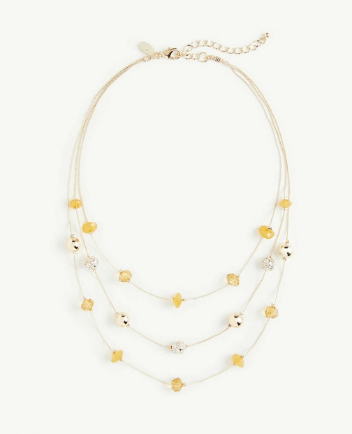 Ann Taylor Layered Illusion Necklace