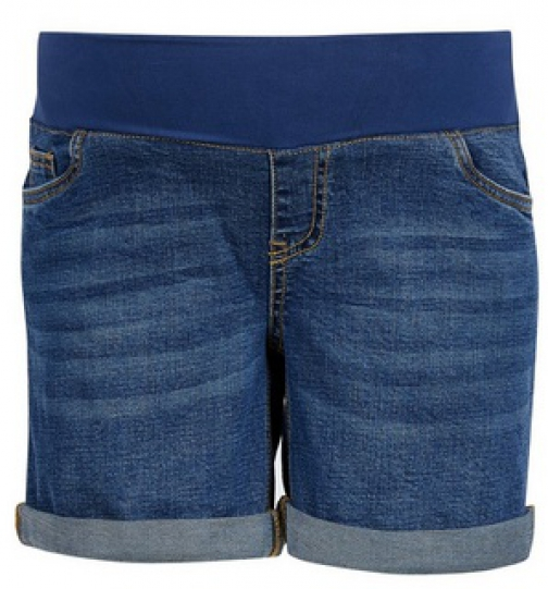 Dorothy Perkins Maternity Midwash Underband Denim Short