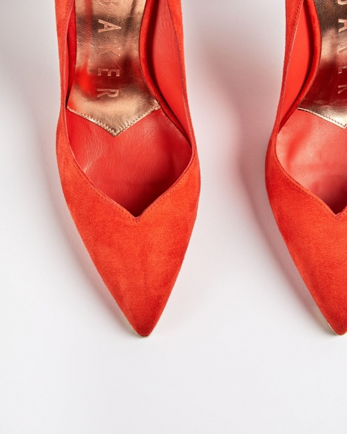 Ted Baker Scalloped High Heel Shoes Court
