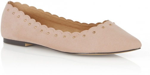 Oasis KATE SCALLOPED Flats