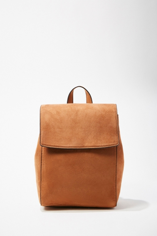 Forever21 Forever 21 Faux Suede , Tan Backpack