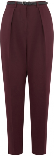 Oasis BELTED PEG LEG TROUSERS Trouser