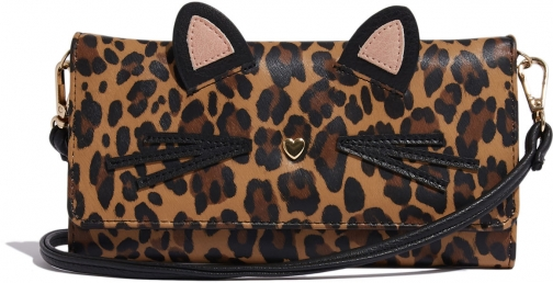 Oasis LEOPARD ON A STRING Purse