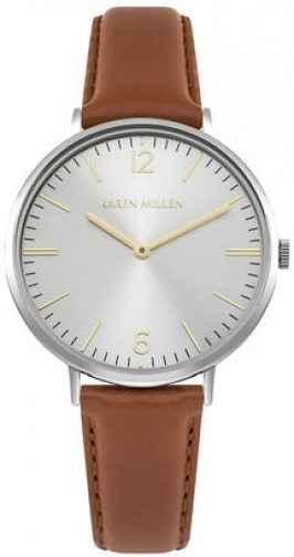 Karen Millen CONTEMPORARY LEATHER Watch