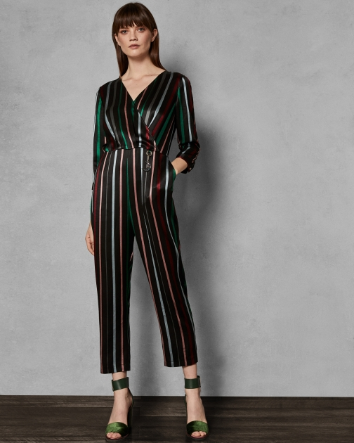 Ted Baker Striped Jumpsuit
