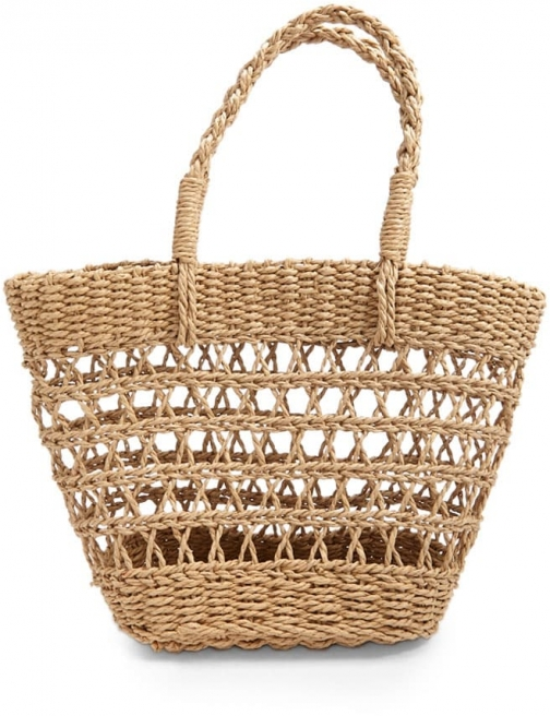 Forever21 Forever 21 Basket Bag , Natural Tote