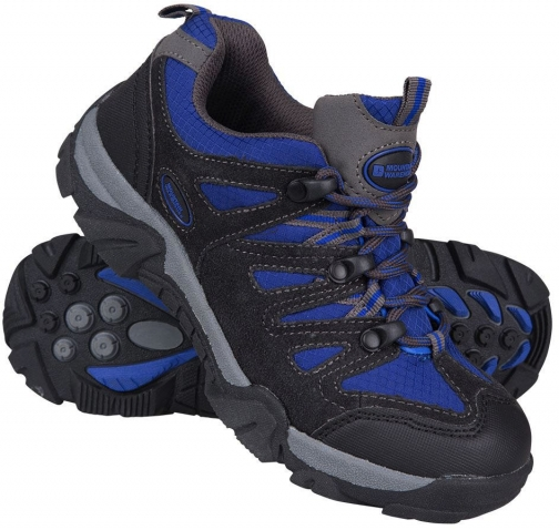 Mountain Warehouse Cannonball Kids Walking - Blue Shoes