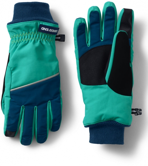 Lands' End Women's Squall - Lands' End - Green - S Glove