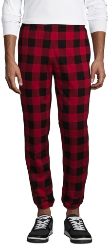 Lands' End Men's Serious Sweats Sherpa Lined - Lands' End - Red - S Sweatpants