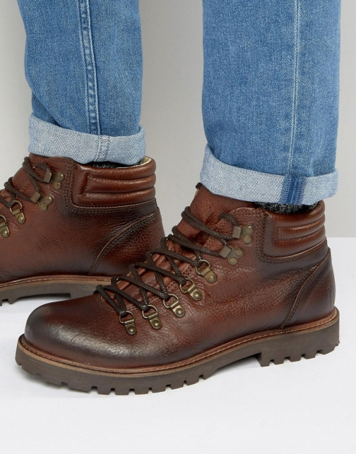 Shoe The Bear Russ Leather Lace Up Boot