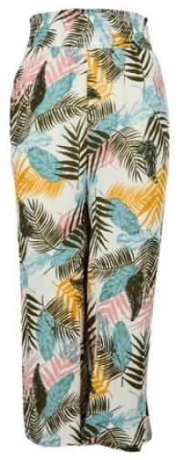 Dorothy Perkins Ivory Palm Print Culottes