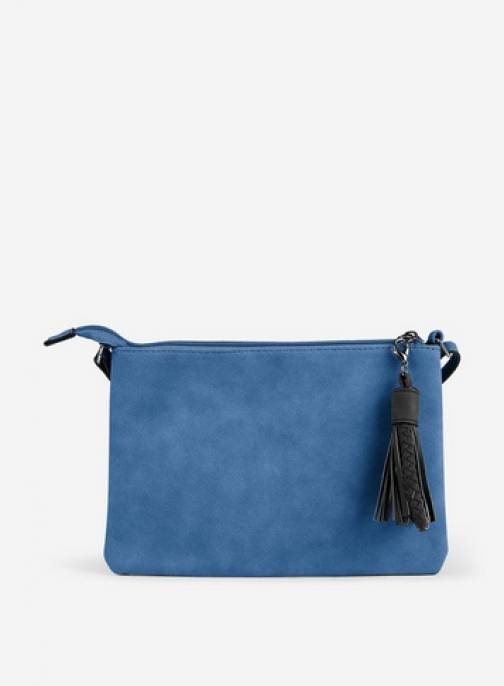 Pieces Blue 'Bekka' Cross Body Bag Crossbody Bag
