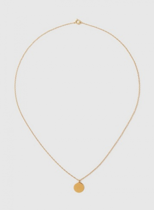 Dorothy Perkins Gold Plated Disc Necklace