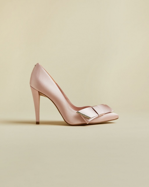 Ted Baker Satin Bow Detail Shoes Court