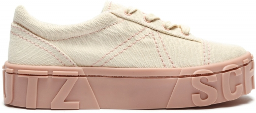 Schutz Shoes Mabby Sneaker - 6.5 Sweet Rose Canvas Trainer