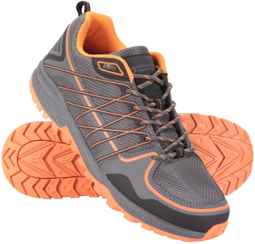 Mountain Warehouse Track Mens - Grey Trainer