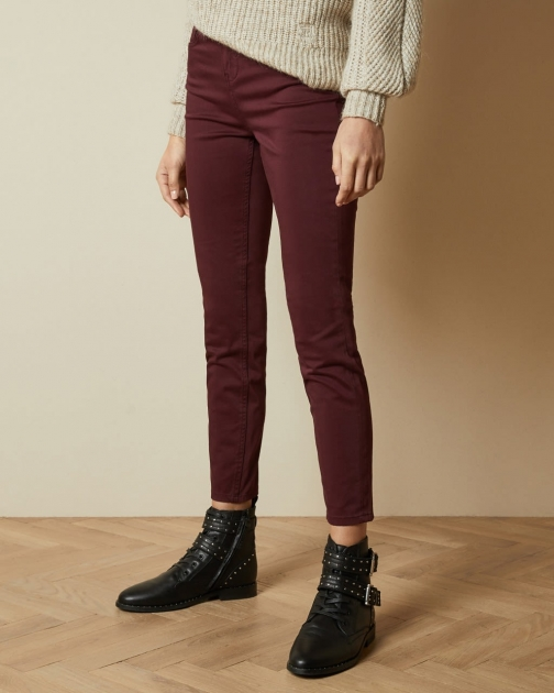 Ted Baker Mid Rise Skinny Jeans