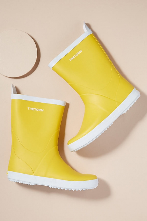 Anthropologie Tretorn Wings Boots Welly