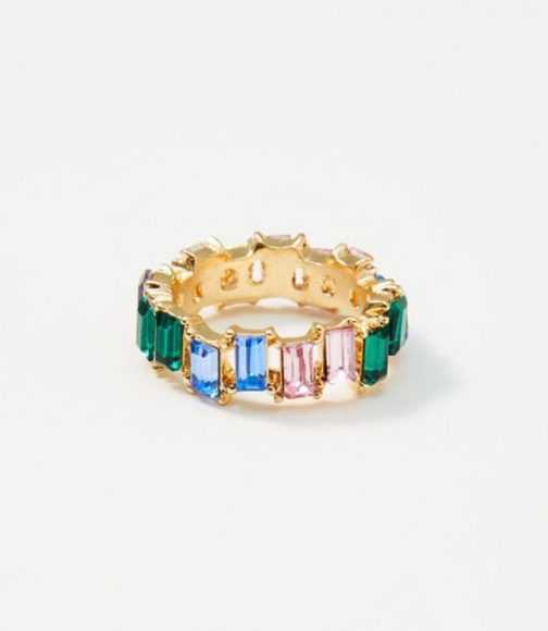 Loft Rainbow Gem Ring