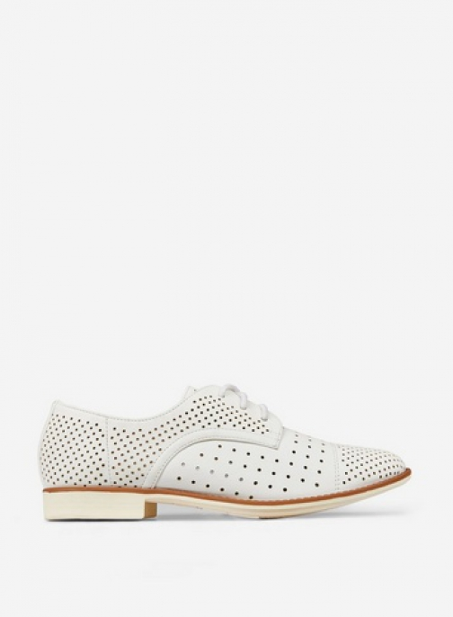 Dorothy Perkins White 'Lyla' Lace Up Trainer