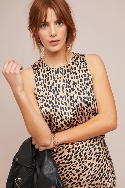 Hutch Nadine Leopard-Print Top Shirt