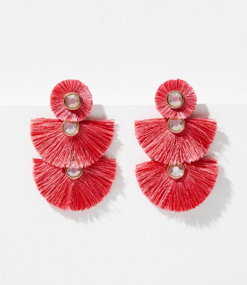 Loft Fringe Triple Drop Earring
