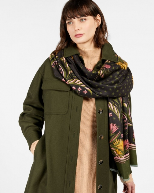 Ted Baker Deco Long Woven Scarf