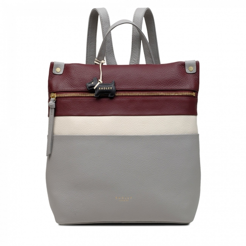 Oasis London Kensal Colourblock Medium Zip-Top Multiway Grab Bag