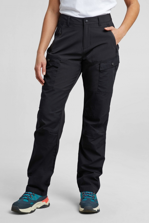 Mountain Warehouse Expedition Hybrid Womens Trousers - Regular Length - Black Trouser