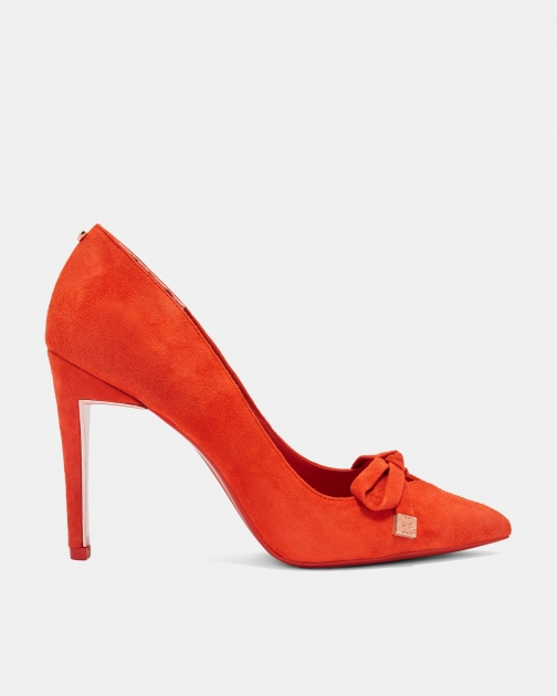 Ted Baker Suede Bow Detail Court