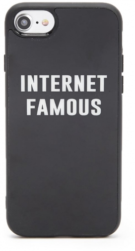 Forever21 Forever 21 Internet Famous Graphic Phone For IPhone 6/7/8 Black/white Case