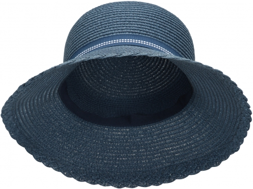 Mountain Warehouse Gardening Straw With Bow - Navy Hat