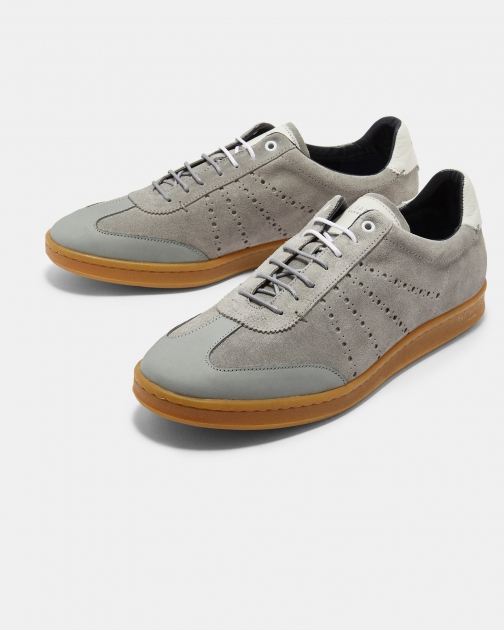 Ted Baker Suede Cupsole Trainer
