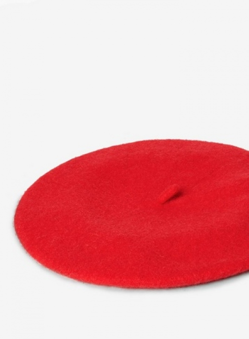 Dorothy Perkins Womens Red Plain Beret- Red, Red Accessorie