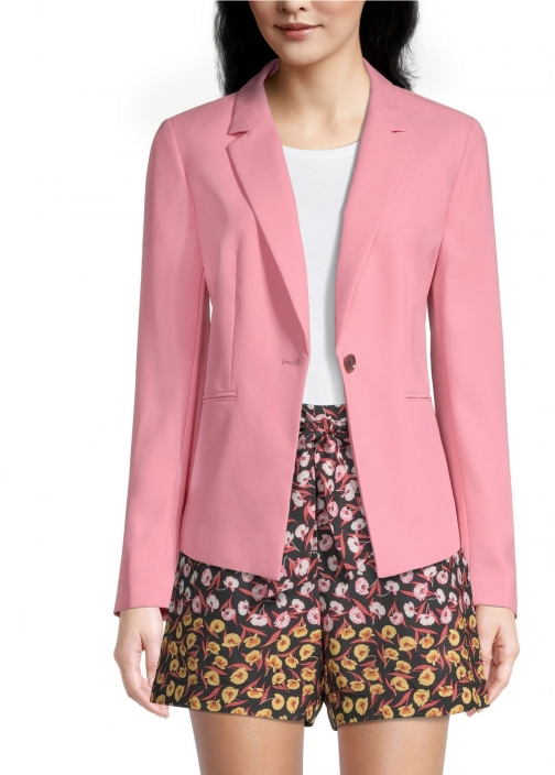 Ann Taylor Factory Petite One Button Blazer
