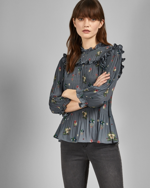 Ted Baker Oracle Pleated Top