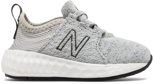 New Balance Cruz Sport Kids' Infant And Toddler Running - Silver/Grey (KVCRZHOI) Shoes