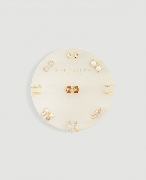 Ann Taylor Factory Stud Earring Set Jewellery