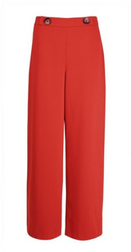 Dorothy Perkins Terracotta Wide Leg Trouser