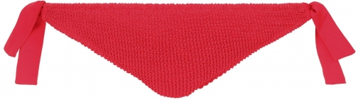 Calzedonia - Alice Crinkle Side Cheeky Bottoms, M, Red, Women Tie
