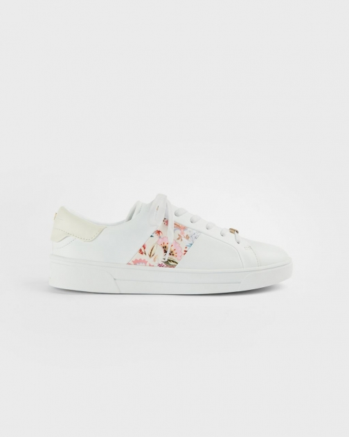 Ted Baker Decadence Stripe Cupsole Trainer