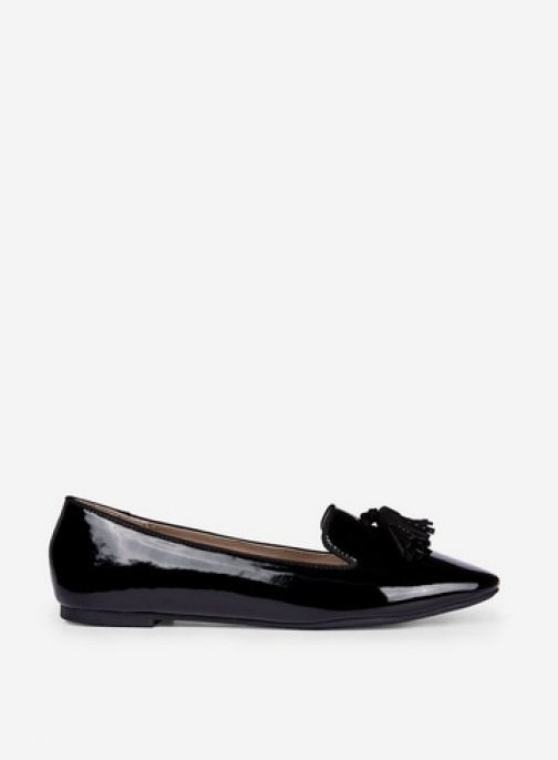 Dorothy Perkins Black 'Petal' Pumps Ballerina