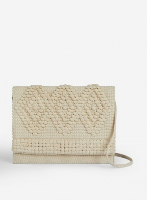 Pieces Natural 'Billen' Cross Body Bag Crossbody Bag