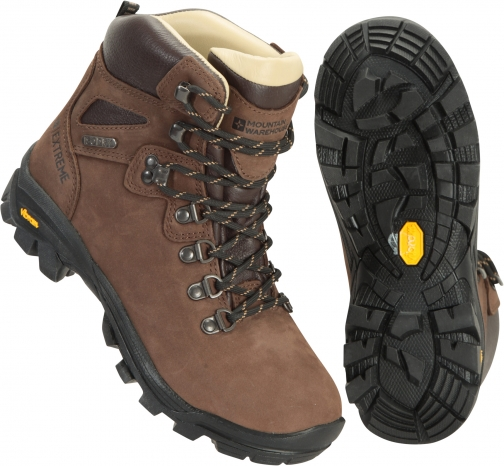 Mountain Warehouse Odyssey Extreme Waterproof Vibram Womens - Brown Boot