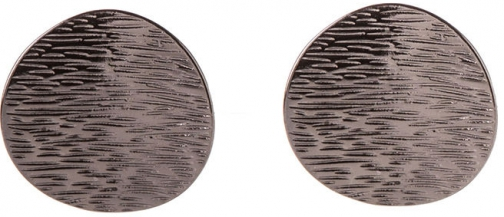 Oasis TEXTURED DISC Earring