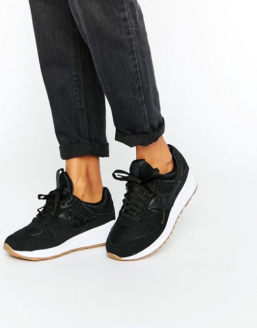 Saucony Grid 8500 With Gum Sole Trainer